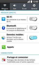 LG F70 - Internet et connexion - Accéder au réseau Wi-Fi - Étape 4