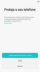 Huawei Y6 (2017) - Primeiros passos - Como ligar o telemóvel pela primeira vez -  15