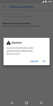 Nokia 7 Plus - Réseau - Sélection manuelle du réseau - Étape 8