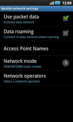Samsung I9000 Galaxy S - Internet - Manual configuration - Step 6