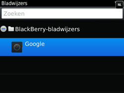 BlackBerry 9790 Bold - Internet - Hoe te internetten - Stap 7