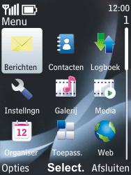 Nokia 6303 classic - Voicemail - handmatig instellen - Stap 4