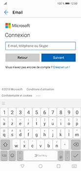 Huawei P20 Lite - E-mail - Configuration manuelle (outlook) - Étape 7