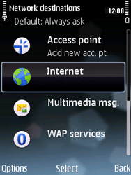 Nokia E75 - Internet - Manual configuration - Step 12