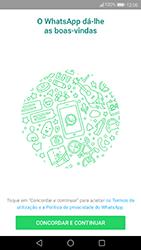 Huawei P10 Lite - Aplicações - Como configurar o WhatsApp -  5