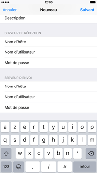 Apple iPhone 6s Plus - E-mail - Configuration manuelle - Étape 14