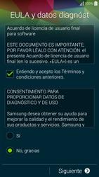 Samsung G850F Galaxy Alpha - Primeros pasos - Activar el equipo - Paso 7