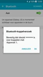 Samsung J500F Galaxy J5 - Bluetooth - koppelen met ander apparaat - Stap 9