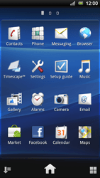 Sony Ericsson Xperia Ray - Internet - Internet browsing - Step 2