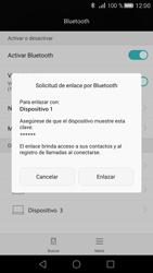 Huawei P8 - Bluetooth - Conectar dispositivos a través de Bluetooth - Paso 6