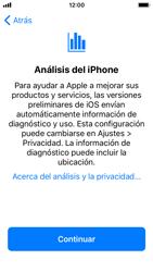 Apple iPhone SE iOS 11 - Primeros pasos - Activar el equipo - Paso 24