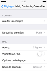 Apple iPhone 4s iOS 8 - E-mail - Configuration manuelle - Étape 4