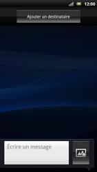 Sony Ericsson Xpéria Arc - Contact, Appels, SMS/MMS - Envoyer un SMS - Étape 5