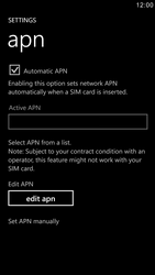 Samsung I8750 Ativ S - Mms - Manual configuration - Step 5