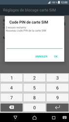 Sony Xperia XZ Premium - Sécuriser votre mobile - Personnaliser le code PIN de votre carte SIM - Étape 8