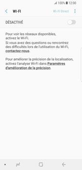 Samsung Galaxy S9 - Wi-Fi - Accéder au réseau Wi-Fi - Étape 6