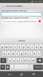 Sony D6603 Xperia Z3 - E-mail - e-mail instellen: IMAP (aanbevolen) - Stap 18