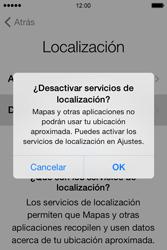 Apple iPhone 4S iOS 7 - Primeros pasos - Activar el equipo - Paso 8