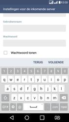 LG K8 - E-mail - Handmatig instellen - Stap 10
