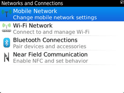 BlackBerry 9360 Curve - Internet - Usage across the border - Step 5