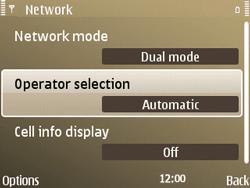 Nokia E72 - Network - Usage across the border - Step 7