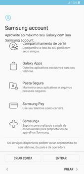 Samsung Galaxy Note 8 - Primeiros passos - Como ligar o telemóvel pela primeira vez -  17