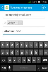 """Alcatel Pixi 3 - 3.5"""" - E-mail - envoyer un e-mail - Étape 8"""