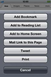 Apple iPhone 4 S - Internet - Internet browsing - Step 5