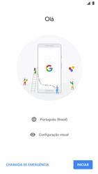 Google Pixel 2 - Primeiros passos - Como ativar seu aparelho - Etapa 7