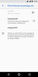 Nokia 3.1 - Internet et connexion - Partager votre connexion en Wi-Fi - Étape 6