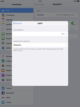 Apple iPad Pro 9.7 - iOS 10 - E-mail - Handmatig instellen - Stap 24