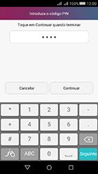 Huawei Y5 II - Segurança - Como ativar o código de bloqueio do ecrã -  7