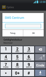LG P700 Optimus L7 - SMS - Handmatig instellen - Stap 5