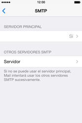 Apple iPhone 4S iOS 7 - E-mail - Configurar correo electrónico - Paso 19