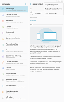 Samsung Galaxy Tab A 10.1 - Android Nougat - WiFi - Mobiele hotspot instellen - Stap 7