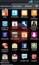 LG Optimus L7 - Internet - Configura el Internet - Paso 3