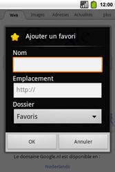 Alcatel OT-991 Smart - Internet - Navigation sur Internet - Étape 5