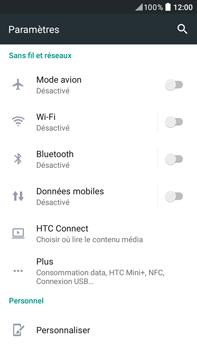 HTC HTC Desire 825 - Internet - activer ou désactiver - Étape 5