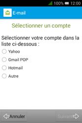 """Alcatel Pixi 3 - 3.5"""" - E-mail - Configurer l"""