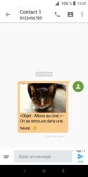 Alcatel 1X - Contact, Appels, SMS/MMS - Envoyer un MMS - Étape 20