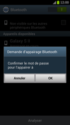 Samsung I9300 Galaxy S III - WiFi et Bluetooth - Jumeler votre téléphone avec un accessoire bluetooth - Étape 7