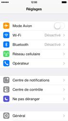 Apple iPhone 5c - Internet - Activer ou désactiver - Étape 3