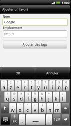 HTC Z715e Sensation XE - Internet - Navigation sur Internet - Étape 6