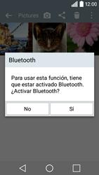 LG Leon - Bluetooth - Transferir archivos a través de Bluetooth - Paso 9