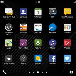 BlackBerry Passport - Applications - Downloading applications - Step 3