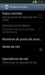 Samsung i8260 Galaxy Core - Internet - Activar o desactivar la conexión de datos - Paso 8