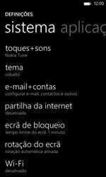 Nokia Lumia 625 - Segurança - Como ativar o código de bloqueio do ecrã -  4