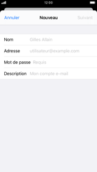 Apple iPhone 8 - iOS 13 - E-mail - Configuration manuelle - Étape 7