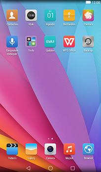 Huawei MediaPad T1 (7.0) - Contactgegevens overzetten - delen via Bluetooth - Stap 3