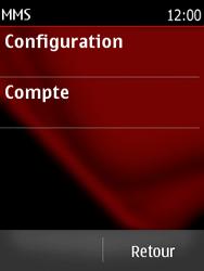 Nokia Asha 300 - MMS - configuration automatique - Étape 12
